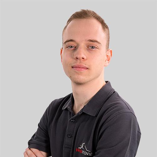 Mikael Zwahlen, collaborateur Swissmovie
