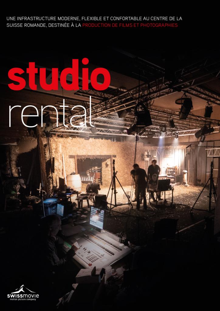Studio photo et plateau de tournage disponibles à la location
